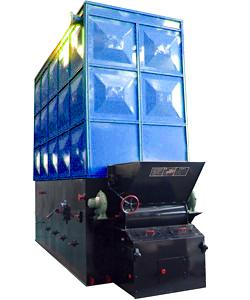 无烟尘导热油锅炉