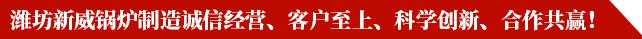 潍坊新威锅炉制造有限公司